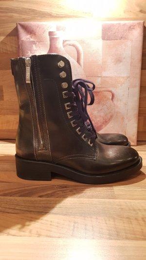 Guess Boots Zamaya - Gr. 39 - Leder - neu
