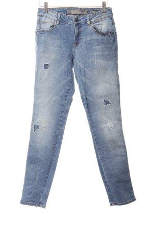 Guess Jeans boyfriend bleu Look de plage