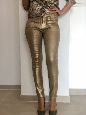 Guess by Marciano beschichtete Jeans Gold Gr. 28/36