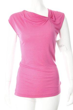 Guess by Marciano Girlie Shirt pink Glitzersteinverzierung
