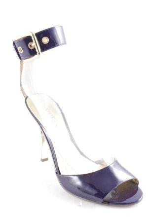 Guess by Marciano Hoge hakken sandalen lila-goud feest stijl