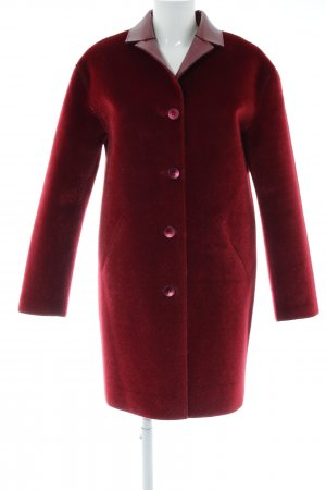 Guess by Marciano Abrigo de piel sintética rojo look casual