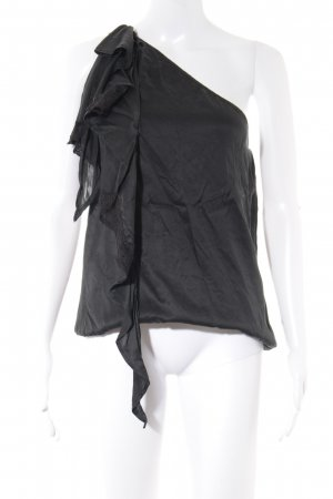 Guess by Marciano Eénschoudertop zwart extravagante stijl