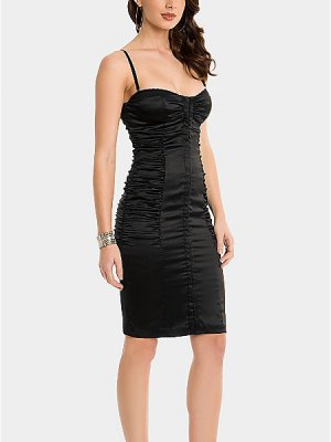 GUESS by Marciano Satin Korsett Kleid Stretch Dita Party Dress black – XS
