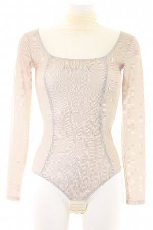 Guess by Marciano Shirtbody Zackenmuster Nude-Look