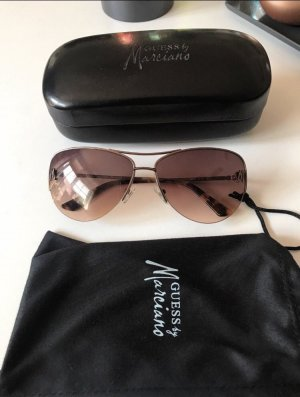 Guess by Marciano Aviator Glasses light brown