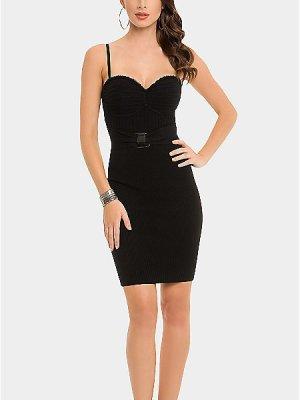 GUESS by Marciano Stretch Party Abend Dress Mini Kleid black XS – NEU