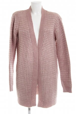 Guess by Marciano Strick Cardigan pink Zopfmuster Casual-Look
