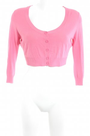 Guess by Marciano Strickjacke pink klassischer Stil