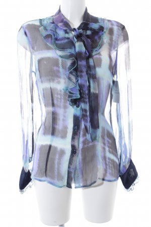 Guess by Marciano Transparenz-Bluse abstraktes Muster Casual-Look