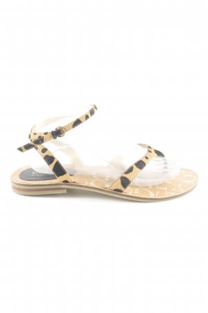 Guess by Marciano Toe-Post sandals natural white-brown leopard pattern