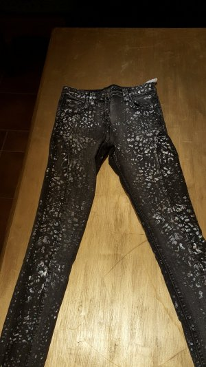 Guess by merciano Skinny 29 mit animalprint in Regenbogenfarben