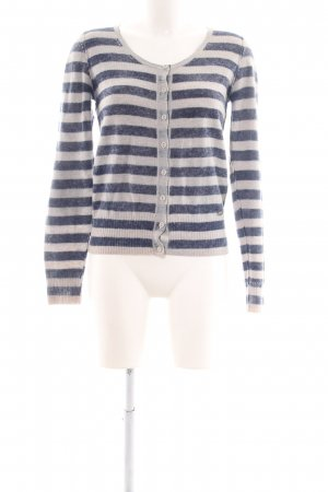 Guess Cardigan blue-light grey striped pattern casual look