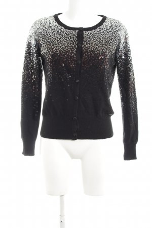 Guess Cardigan black-white color gradient casual look