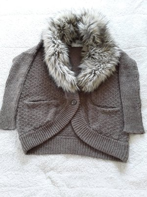 Guess Knitted Cardigan brown