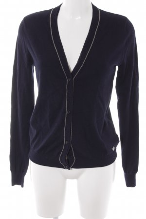 Guess Cardigan dunkelblau Casual-Look