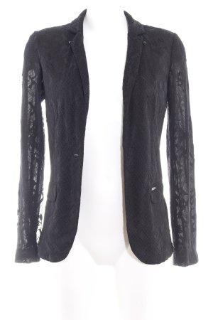 Guess Cardigan black floral pattern elegant