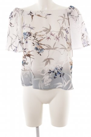 Guess Blusa tipo Carmen estampado floral
