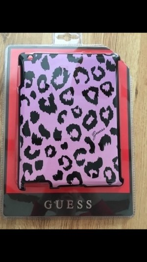 Guess Key Chain black-lilac