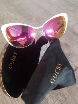 Guess Gafas de sol cuadradas blanco