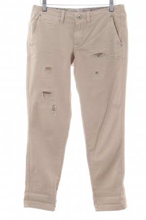 Guess Chinohose wollweiß Casual-Look