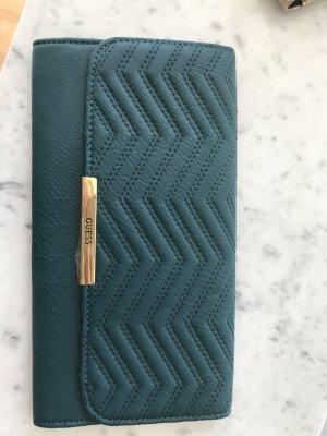 Guess Clutch Abendtasche grün gold NEU