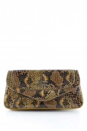 Guess Clutch animal pattern wet-look