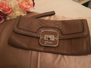 Guess Borsa clutch marrone chiaro