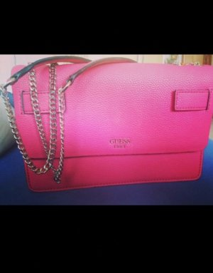 Guess Borsa clutch rosso lampone