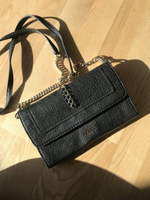 Guess Clutch black leather