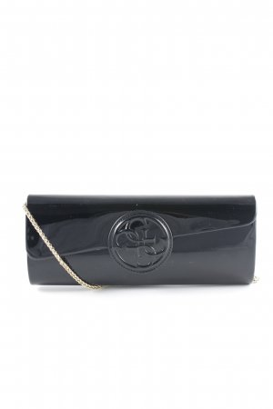 Guess Clutch schwarz-goldfarben Party-Look