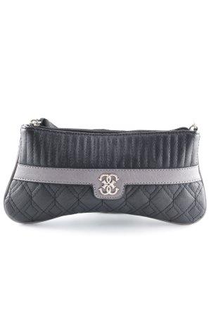 Guess Borsa clutch nero-grigio-lilla elegante