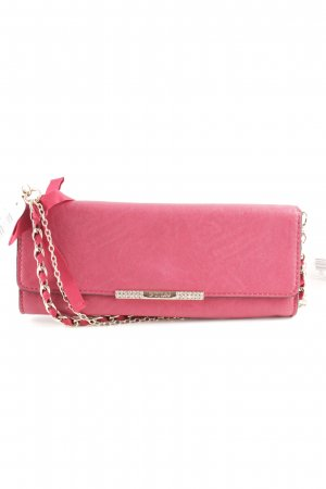 Guess Clutch baksteenrood casual uitstraling