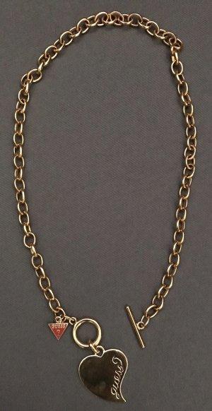 Guess Collar estilo collier color oro