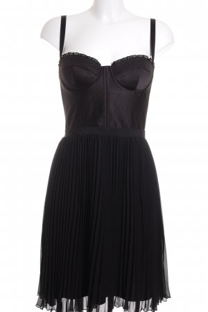 Guess Vestido corsage negro Paris-Look
