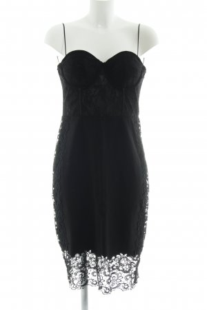 Guess Corsagenkleid schwarz Party-Look