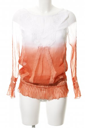Guess Crash Blouse color gradient romantic style