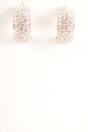 Guess Pendientes tipo aro color rosa dorado elegante