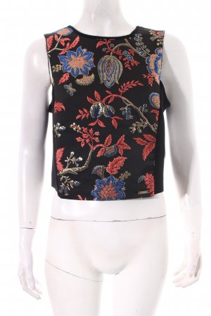 Guess Cropped Top florales Muster Street-Fashion-Look