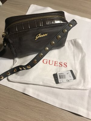 Guess Crossbody Antilia crocodile grey