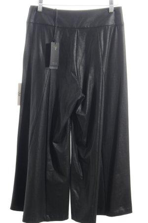 Guess Culottes schwarz Leder-Optik