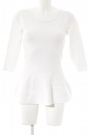 Guess Top cut out blanco puro look casual