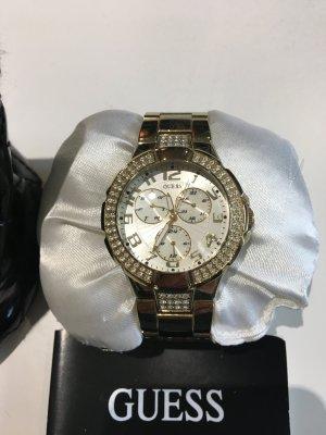 Guess Damen-Chronograph gold