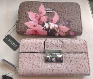Guess Wallet light brown-light pink