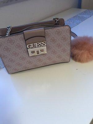 Guess Damen Handtasche rosa