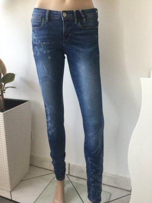 Guess Stretch jeans korenblauw Katoen