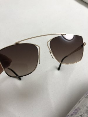 Guess Oval Sunglasses brown-light brown