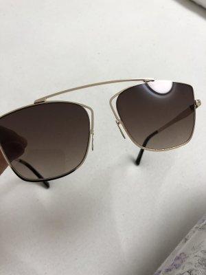 Guess Ovale zonnebril bruin-lichtbruin