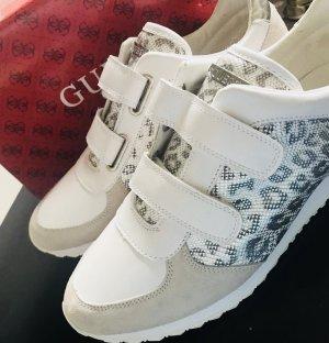 Guess Zapatillas blanco-gris claro