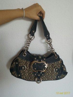 Guess Damentasche schwarz/gold